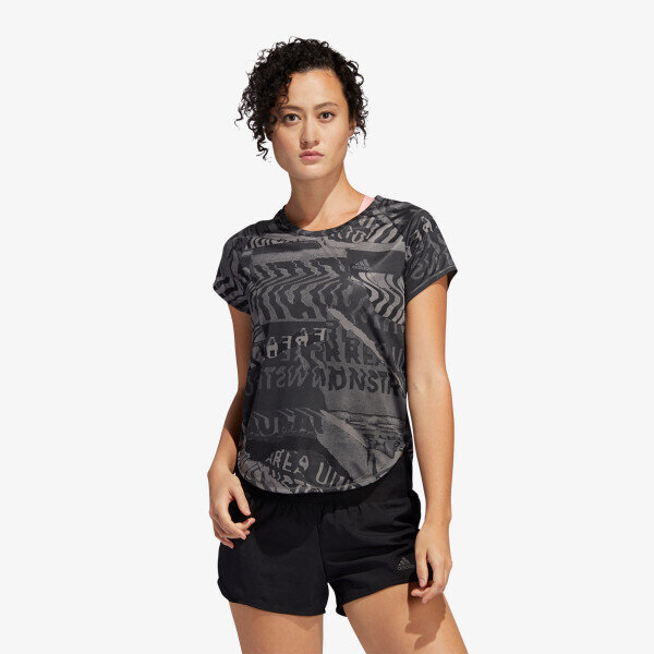 Дамска Тениска Adidas OWN THE RUN TEE BLACK